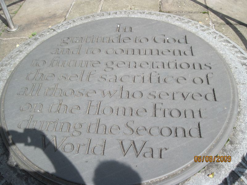 Plaque to the Home Front