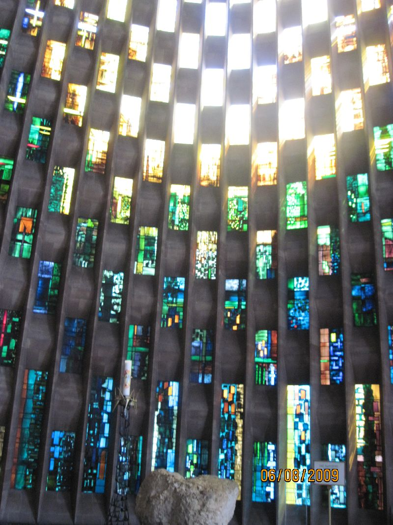 Stained Glass Roof of the New Cathedral