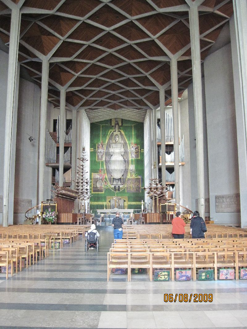 Long View of the Main Altar
