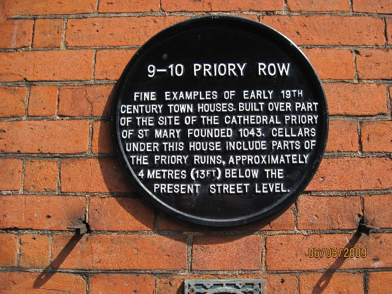 Priory Row, Covent;ry, Warwickshire